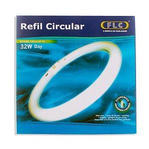 Lâmpada FLC fluorescente Refil Circular T8 32w