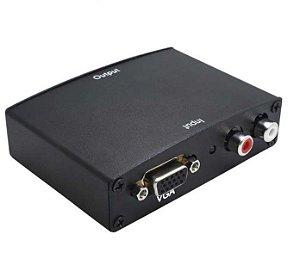 Conversor Vga Para Hdmi Com Áudio Exbom VAC-V2H100