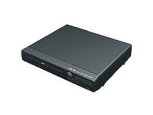 Dvd Multilaser Preto Bivolt USB  3 Em 1 SP391