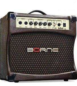 Amplificador de Violão Borne Infinit CV80 30wrms