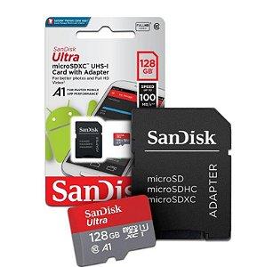 Cartão De Memória Micro SD S.ULTRA 128gB