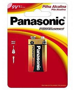 Bateria 9V Panasonic Alcalina