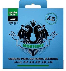 Encordoamento P/ Guitarra Monterey  010~046 EMG10