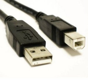 Cabo USBa x USBb  p/impressora 1.8mts   2.0
