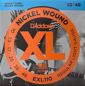 Encordoamento p/  Guitarra D'addário EXL-110  010