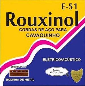 Encordoamento Cavaco Rouxinol Cordas Aço E51