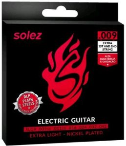 ENCORDOAMENTO GUITARRA SOLEZ .009 SLG9