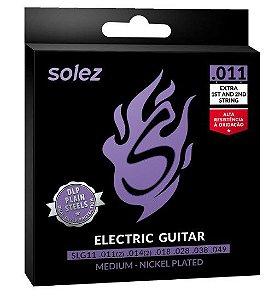 Encordoamento P/Guitarra Solez 011  SLG11