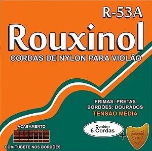 Encordoamento p/ Violão Nylon Rouxinol Tensão Média R-53A