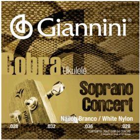 Corda Ukulele Soprano/concert Giannini