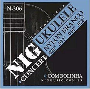 Encordoamento NIG Para Ukulele Concert N-306