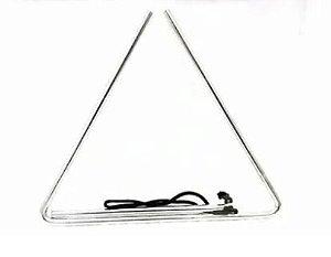 Triângulo Médio 25cm 10mm Aço Cromado Phx 79A