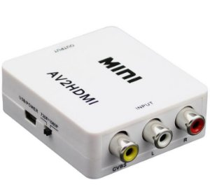 Conversor De AV P/HDMI    1080P