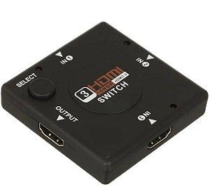 Chave Seletora HDMI 3 entradas LE-4111