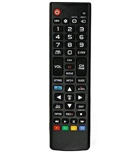 Controle Remoto MXT p/TV LG AKB73975709PS Smart 3D