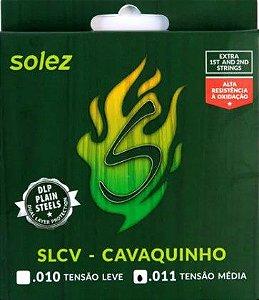 Encordoamento p/ Cavaquinho Solez SLCV .011