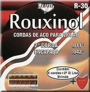 Encordoamento Rouxinol de Aço p/ Violão R-30 011