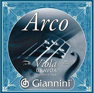 Encordoamento p/ Viola de Arco Giannini GEAVOA