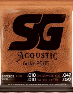 Encordoamento p / Violão 12 cordas Aço SG 12C 6688