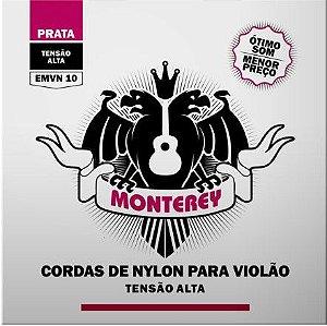 Encordoamento p/ Violão Nylon Monterey Tensão alta EMVN-10