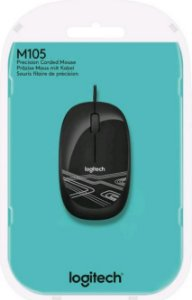 MOUSE LOGITECH M105 USB PRETO