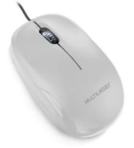 Mouse multilaser box branco