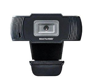 Câmera Web Cam Multilaser 720p AC339