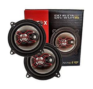 Alto Falante Bravox B3X50X 5'' Triaxial 50wrms Par