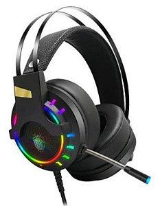 Headphone usb com mic gamer 7.1 com led sh-fo-q10 - Shinka