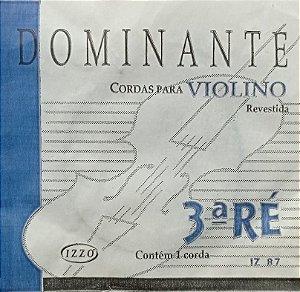 Corda P/Violino Dominante 3ª Ré IZ 87