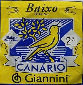 Corda P/ Baixo Canário 2ªRé GESBX.2