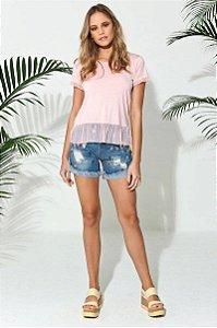 Short Jeans Bordados Lindos
