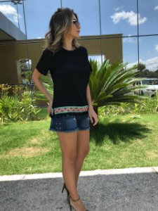 Short Jeans Rolotê