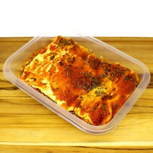 Lasanha à bolonhesa de soja (vegano)