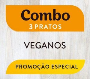 Combo - 3 pratos Veganos