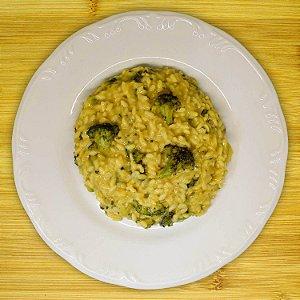 Risoto de brócolis (vegano)