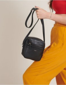 Bag Couro Black Filipinas Viamia