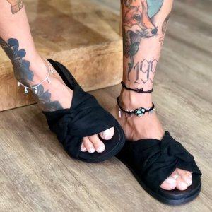 Rasteira Bali Black