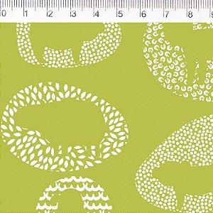 Tecido Fauna Liso Verde ES031C01