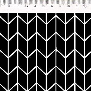 Geométrico 3D P/B (30644C01)