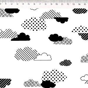 Nuvens Preto e Branco (30640C04)