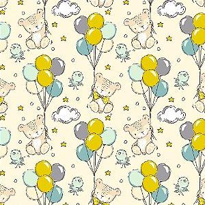 Tecido Teddy Balloons 14002 50x150