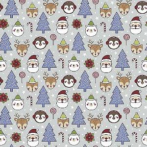 Tecido Candy Christmas NA078 50x150