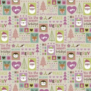 Tecido Candy Christmas NA081 50x150