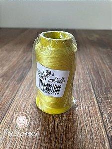 Linha de Bordar Lumina Amarelo cor 5607