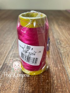 Linha de Bordar Pink cor 5254