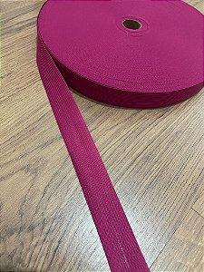 Viés Boneon 25 mm cor Pink (PEÇA)