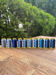 Kit Linhas Lumina Mix Azul