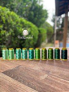 Kit Linhas Lumina Mix Verde 2