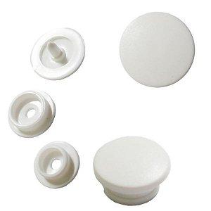 Botão Rita cor Branco (Tam. 12)